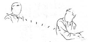 Effetto tumbling: il proiettile trapassa Kennedy e inizia a capovolgersi.