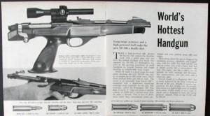 Il Remington XP-100 Fireball, l'arma che Files sostiene di aver usato per sparare a Kennedy