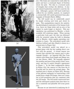 Immagine tratta dallo studio del JDFSL sulle fotografie di Oswald con il fucile